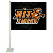 RIT Tigers Logo Car Flag