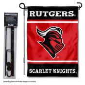 Rutgers Garden Flag and Pole Stand Holder