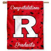 Rutgers Scarlet Knights Congratulations Graduate Flag