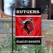 Rutgers Scarlet Knights Garden Flag