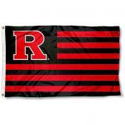 Rutgers Scarlet Knights Stripes Flag