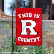 Rutgers University Country Garden Flag