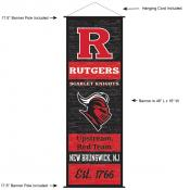 Rutgers University Decor and Banner