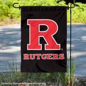 Rutgers University Double Logo Garden Flag