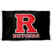 Rutgers University Flag - Black