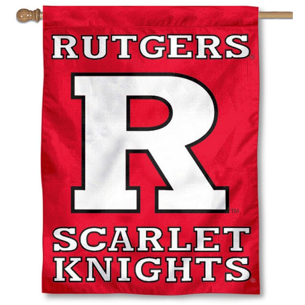 Rutgers University House Flag is a vertical house flag which measures 30x40 inches, is made of 2 ply 100% polyester, offers dye sublimated NCAA team insignias, and has a top pole sleeve to hang vertically. Our Rutgers University House Flag is officially licensed by the selected university and the NCAA