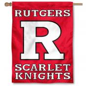 Rutgers University House Flag