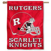 Rutgers University House Flag - Helmet