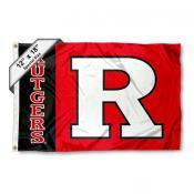 Rutgers University Mini Flag