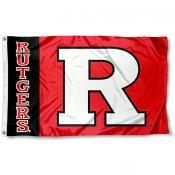 Rutgers University Polyester Flag