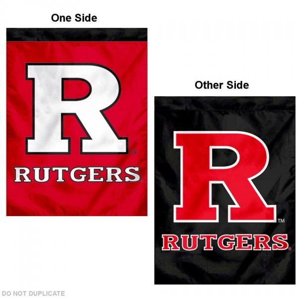 Rutgers University Red/Black Logo House Flag is a vertical house flag which measures 30x40 inches, is made of 2 ply 100% polyester, offers dye sublimated NCAA team insignias, and has a top pole sleeve to hang vertically. Our Rutgers University Red/Black Logo House Flag is officially licensed by the selected university and the NCAA.