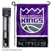 Sacramento Kings Garden Flag and Flagpole Stand