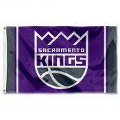 Sacramento Kings Logo 3x5 Flag