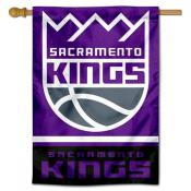 Sacramento Kings Logo Double Sided House Flag