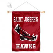 Saint Joseph's Hawks Banner with Suction Cup