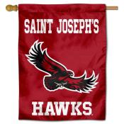 Saint Joseph's Hawks Logo Double Sided House Flag