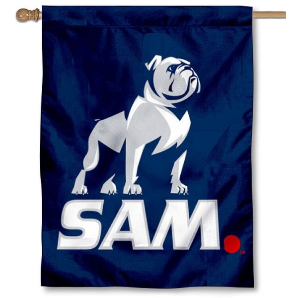 Samford New Logo House Flag is a vertical house flag which measures 30x40 inches, is made of 2 ply 100% polyester, offers screen printed NCAA team insignias, and has a top pole sleeve to hang vertically. Our Samford New Logo House Flag is officially licensed by the selected university and the NCAA.