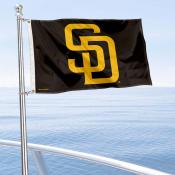 San Diego Padres Boat and Nautical Flag
