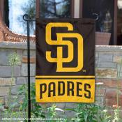 San Diego Padres Double Sided Garden Flag