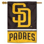 San Diego Padres Double Sided House Flag