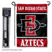 San Diego State Aztecs Garden Flag and Stand