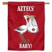 San Diego State Aztecs New Baby Flag