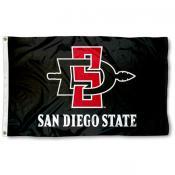 San Diego State University 3x5 Flag