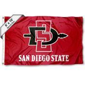 San Diego State University 6'x10' Flag