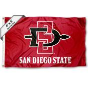 San Diego State University Large 4x6 Flag