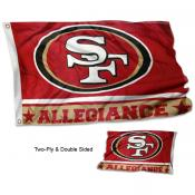 San Francisco 49ers Allegiance Flag