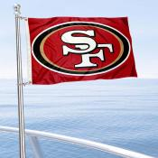 San Francisco 49ers Boat and Nautical Flag