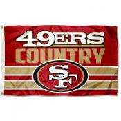San Francisco 49ers Country Flag