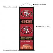 San Francisco 49ers Decor and Banner