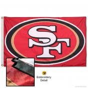 San Francisco 49ers Embroidered Nylon Flag