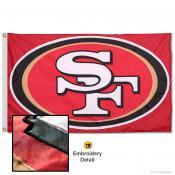 San Francisco 49ers Embroidered Nylon Flag