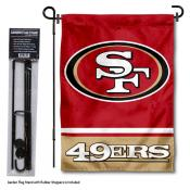 San Francisco 49ers Garden Flag and Stand