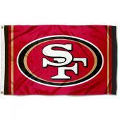 San Francisco 49ers Logo Flag