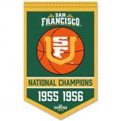 San Francisco Dons Basketball National Champions Banner