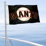 San Francisco Giants Boat and Nautical Flag