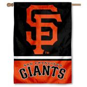 San Francisco Giants Double Sided House Flag