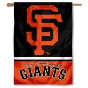 San Francisco Giants Double Sided House Flag