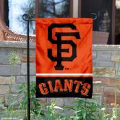 San Francisco Giants Garden Flag