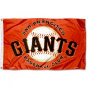 San Francisco Giants Orange Flag