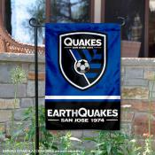 San Jose Earthquakes Garden Flag