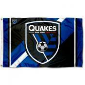 San Jose Earthquakes Outdoor Flag