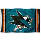 San Jose Sharks Outdoor 3x5 Flag