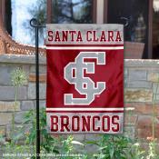 Santa Clara Broncos Garden Flag