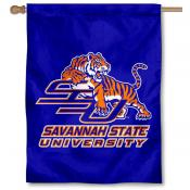 Savannah State SSU Tigers Banner Flag