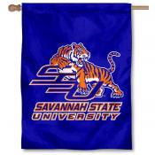 Savannah State SSU Tigers Banner Flag