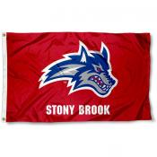 SBU Seawolves Logo Flag